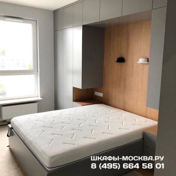 Шкаф вокруг кровати 002