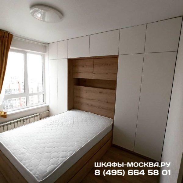 Шкаф вокруг кровати 001