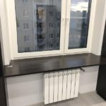 Шкаф вокруг окна 016