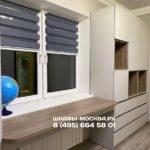 Шкаф вокруг окна 022