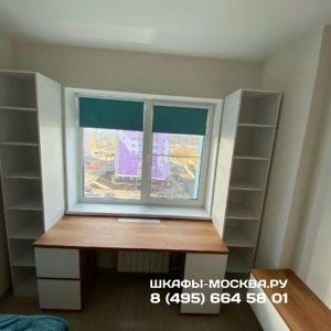Шкаф вокруг окна 038
