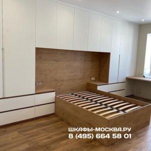 Шкаф вокруг кровати 003