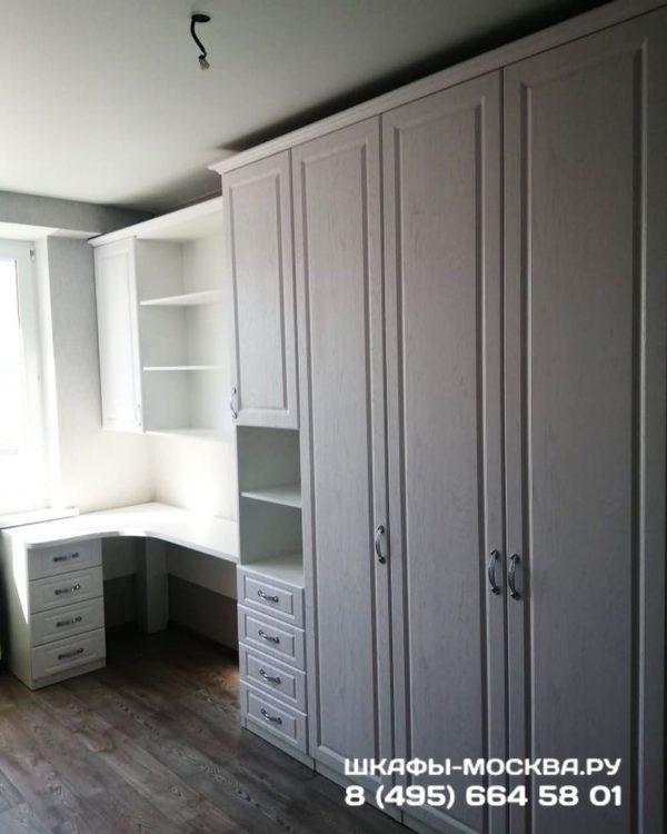 Шкаф со столом 001