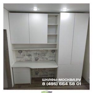 Шкаф со столом 005