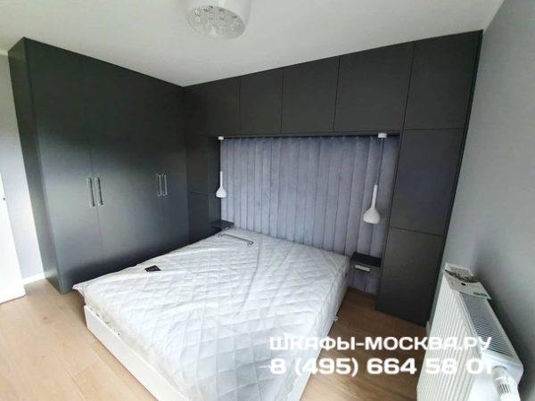 Шкаф вокруг кровати 017