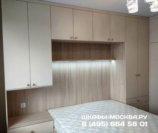 Шкаф вокруг кровати 020