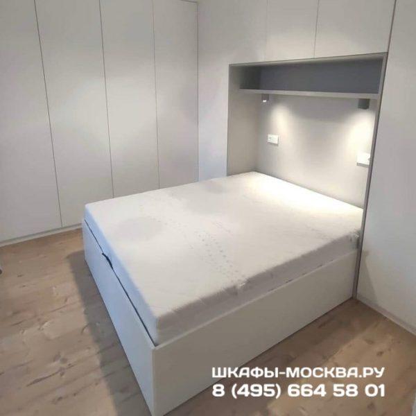 Шкаф вокруг кровати 022