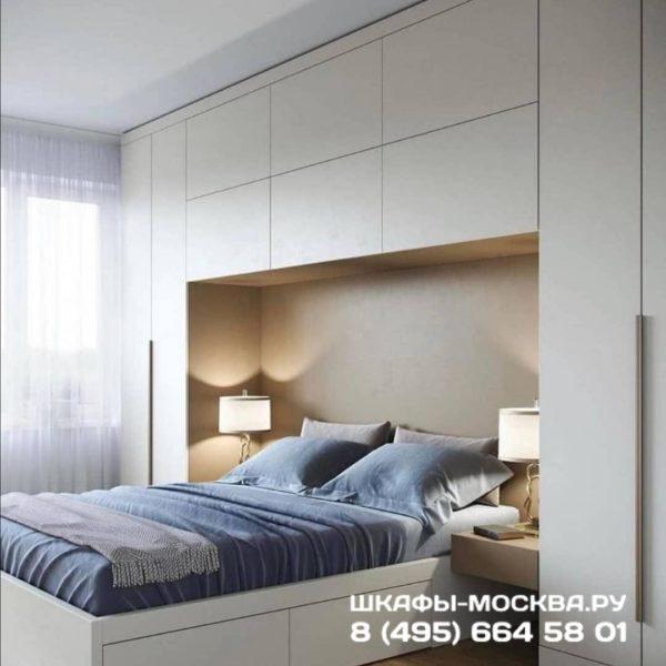 Шкаф вокруг кровати 010