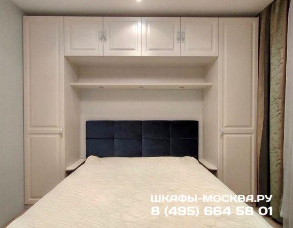 Шкаф вокруг кровати 011