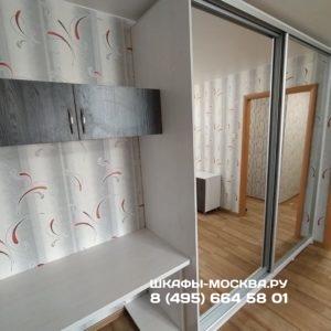 Шкаф со столом 008