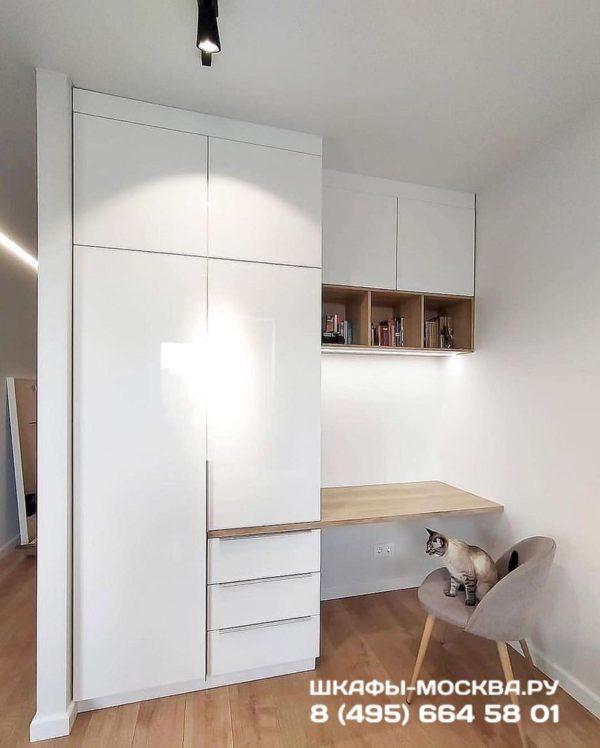 Шкаф со столом 009