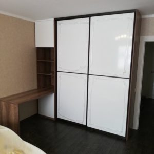 Шкаф со столом 013