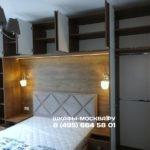 Шкаф вокруг кровати 024