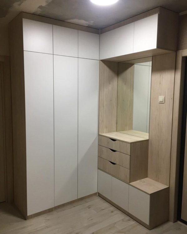 Шкаф в прихожую 040