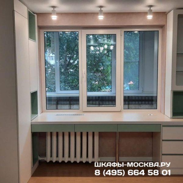 Шкаф вокруг окна 050
